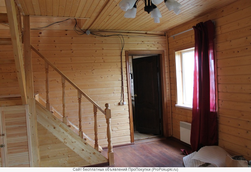 Дом в деревне для ПМЖ на участке 10 соток со всеми коммуникациями.