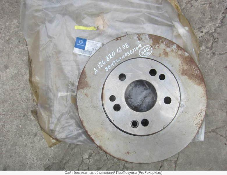 Тормозной диск передн. ,вентилируемый А 124 820 12 98 для Мерседес W124 .