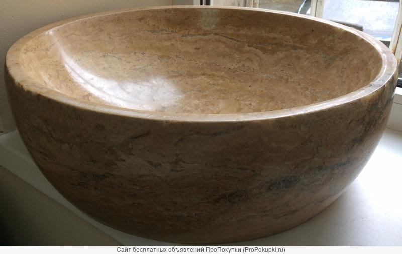 раковины из камня в ванную комнату в наличии склад в Сочи