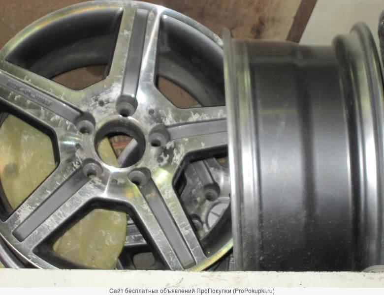 Литые диски R15; R16 х et x J _для мерседес W210 W202 W124 W126