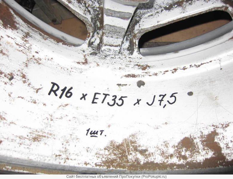 Литой диск R16 x et35 x 7,5j для Мерседес