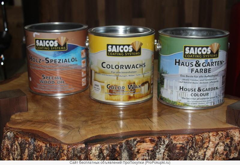 Масло для покрытия древесины SAICOS