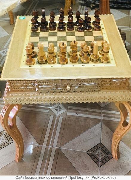 Столик журнальный шахматный