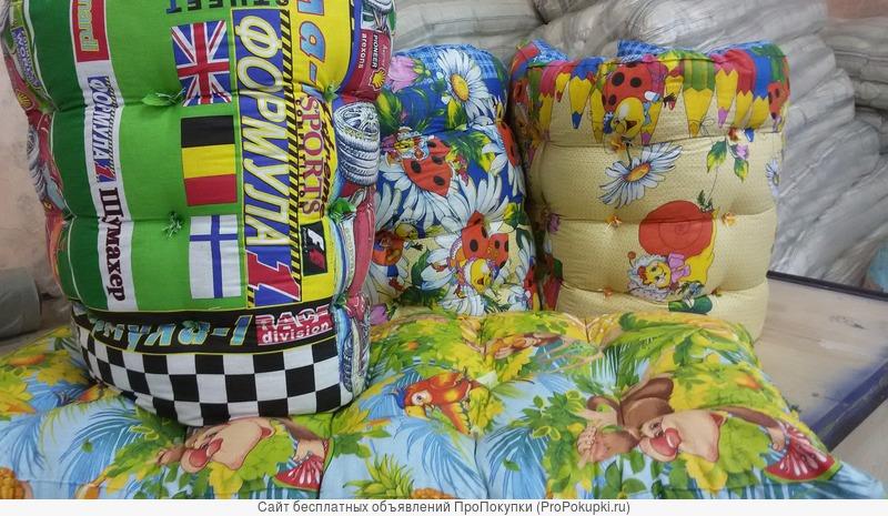 Постельное бельё, матрацы, подушки, одеяла оптом
