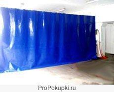 Защитные шторы для ангаров, складов, производственных помещений