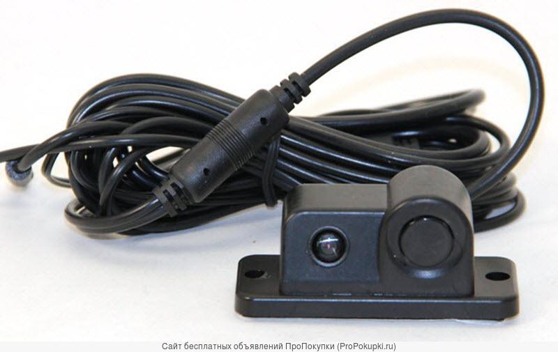 Камера заднего вида со встроенным парктроником
