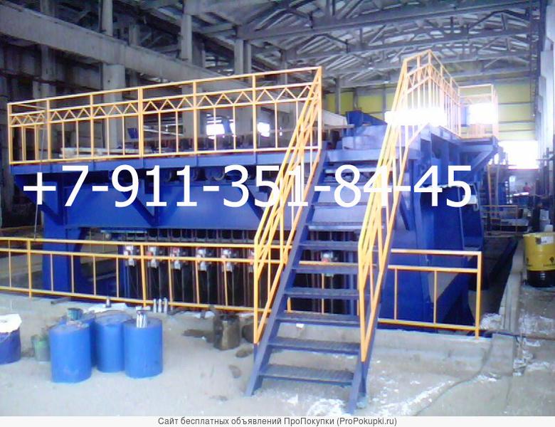 Кассетная установка СМЖ Металлоформы для ЖБИ