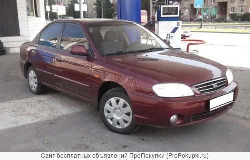 По запчастям KIA Spectra, 2006 г. в., 1,6л, МКПП, седан, левый руль