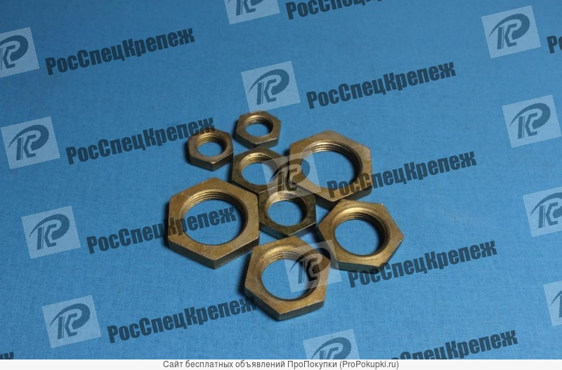Контргайка, стальная,ГОСТ 8968-75, Ду8 –Ду 100 ,из наличия