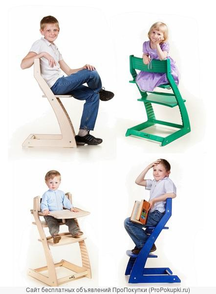 Детский регулируемый стул Котокота