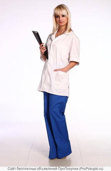 Костюм медицинский женский, медицинская спецодежда