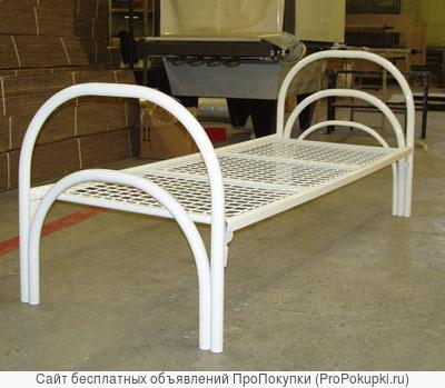 Металлические кровати для интернатов, кровати для строительных бытовок, времянок, кровати для пансионата