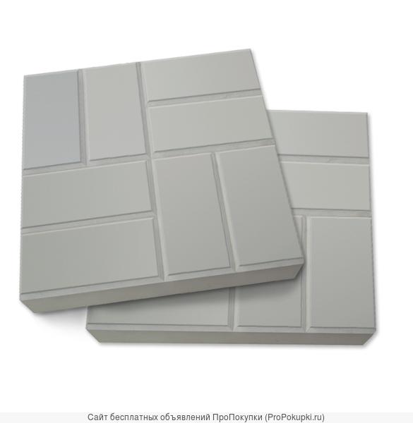 Тротуарная плитка бетонная 400.400 «8-кирпичей»