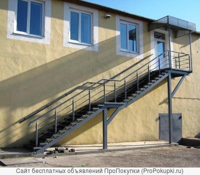 Изготовим лестницы в т.ч. винтовые, навесы, решетки
