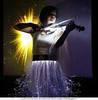 Скрипачка на праздник. Электро-скрипка