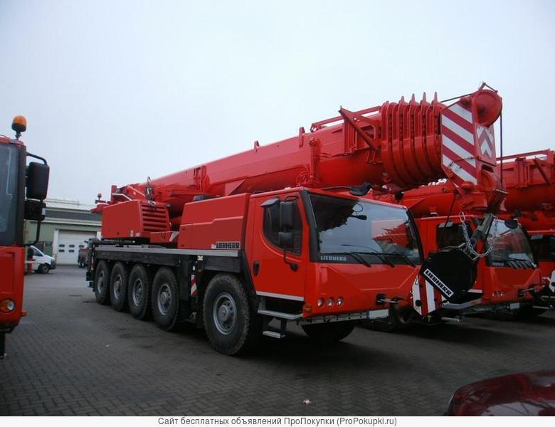 Услуги автокрана Liebherr LT -1100
