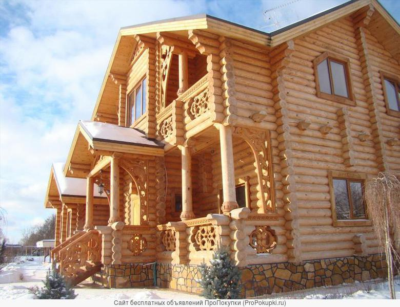 Строительство брусовых и рубленых домов