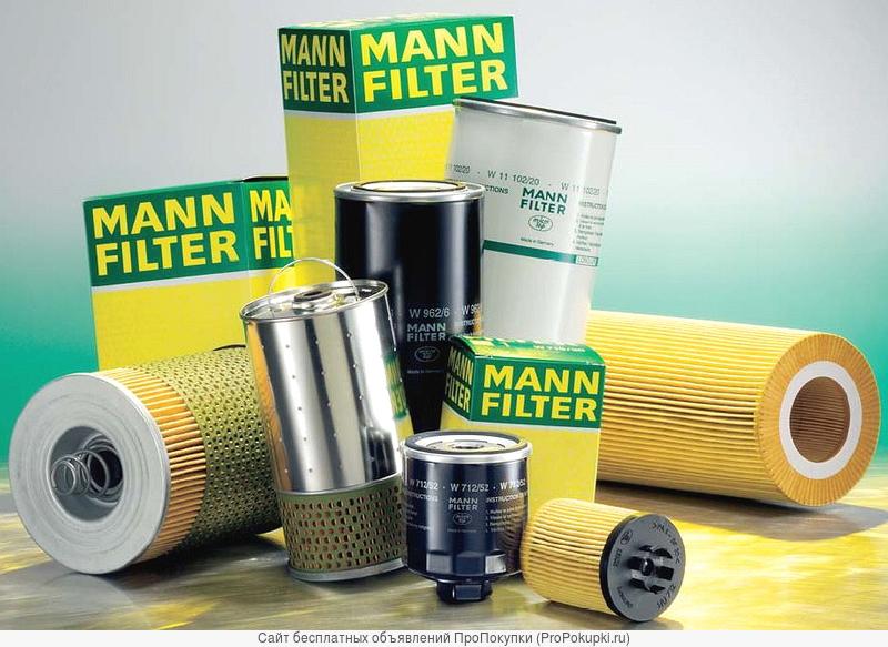 Фильтры Mann для иномарок