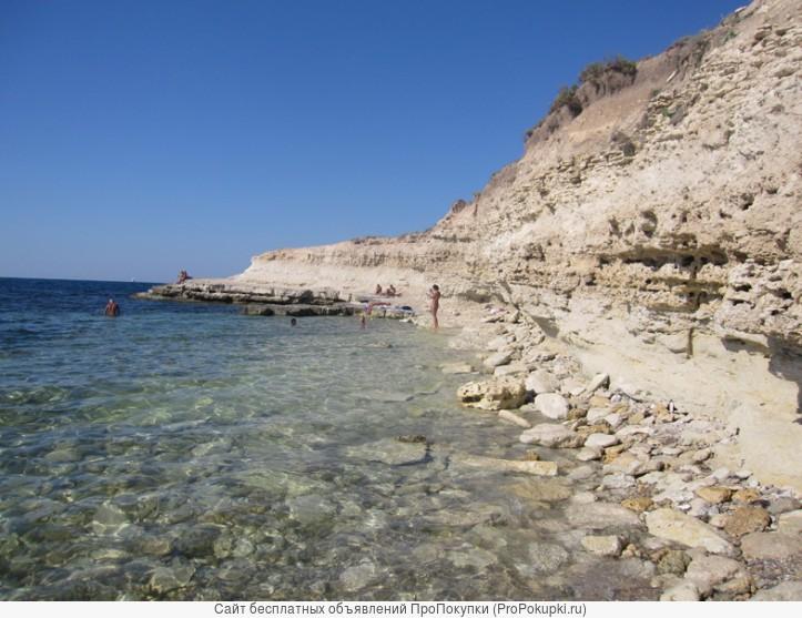 Отдых на берегу моря, Межводное, (Тарханкут)