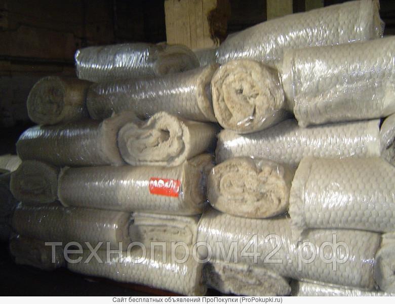 Маты минераловатные теплоизоляционные М1 М-75, М-100, М-125