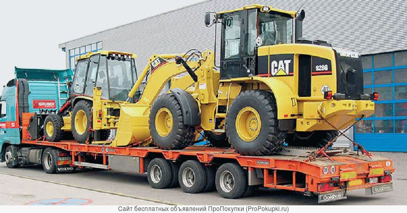 Перевозка проектных и негабаритных грузов