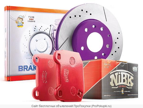 Тормозные колодки и диски NiBK