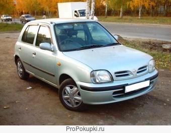 Nissan March, K 11, 1996 г. в., CG10DE, АКПП, 2WD