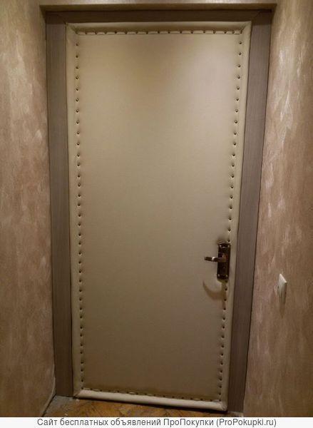 обшивка двери