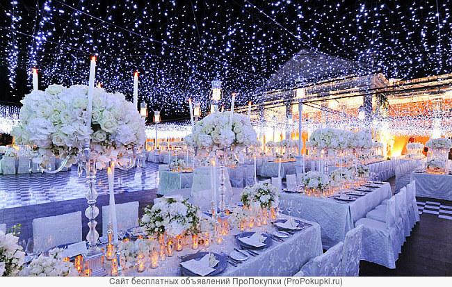 Декор Вашей свадьбы, а также любого торжества