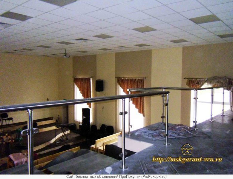 Ограждения балконов,лоджий,террас