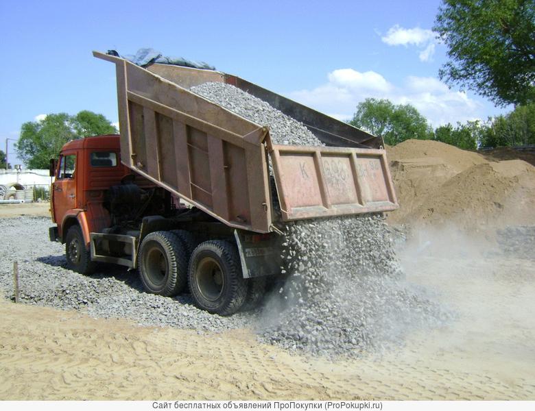 Щебень любого вида доставка от 1 до 25 тонн