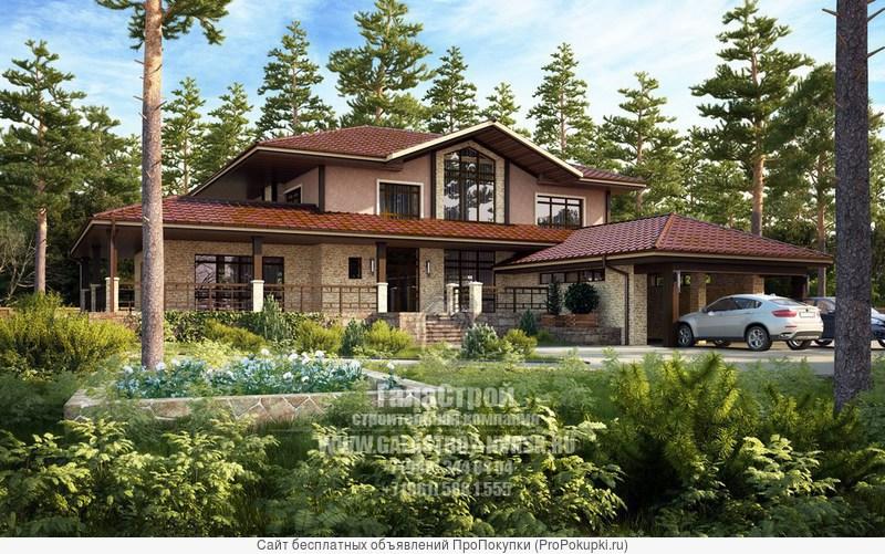 Строительство домов, зданий, бань и др. сооружений. любой сложности