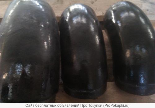 Отводы с покрытием из экструдированного полиэтилена