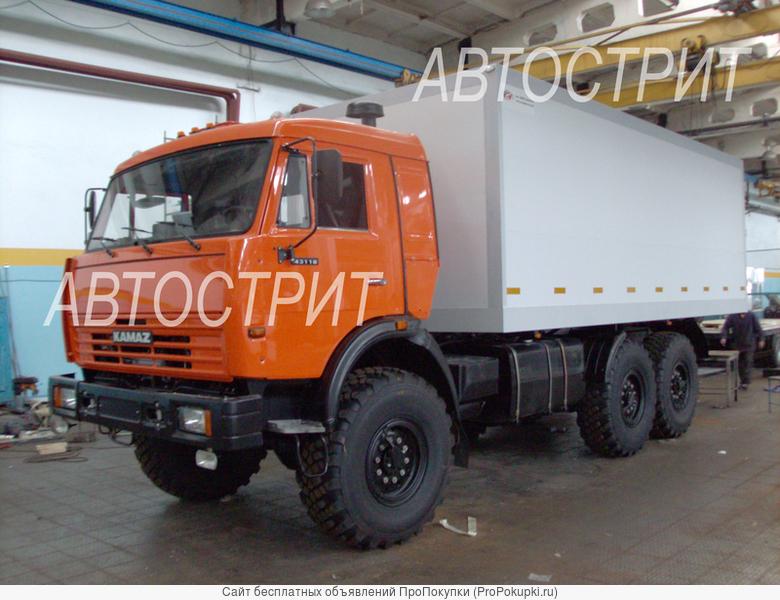 Фургоны изотерм, козырьки КАМАЗ (не автодизайн)