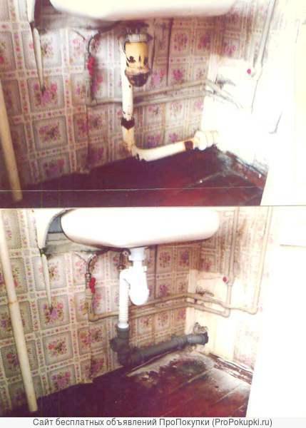 Замена канализации. г.Тула, РФ