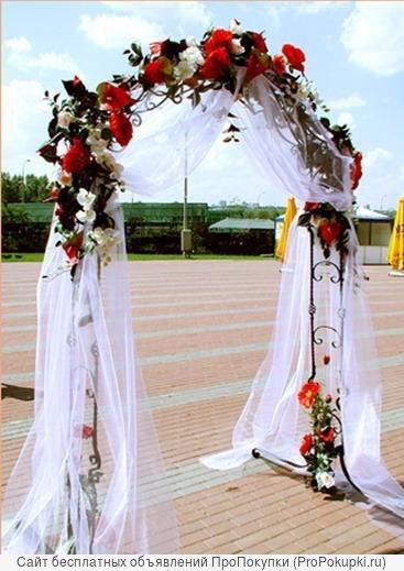 украшение свадеб, залов и т.д