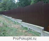монтажники заборов -металлопрофиль(ПРОФЛИСТ)
