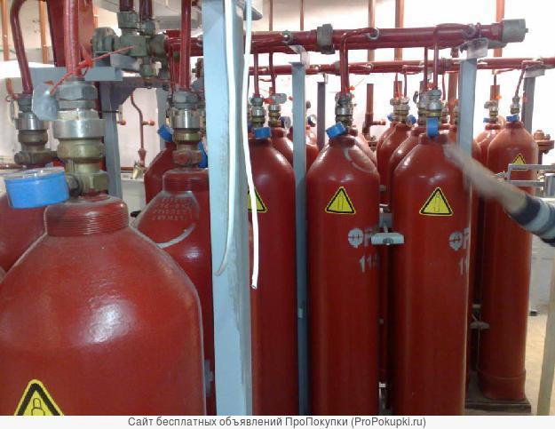 Покупка, Утилизация станций газового пожаротушения, баллонов,