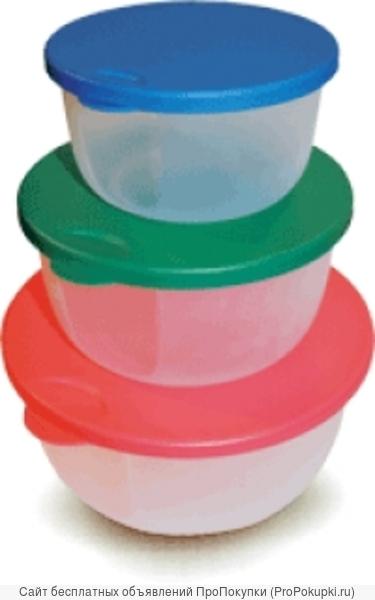 ЭМ-контейнер для продуктов (3 шт.). Скидка