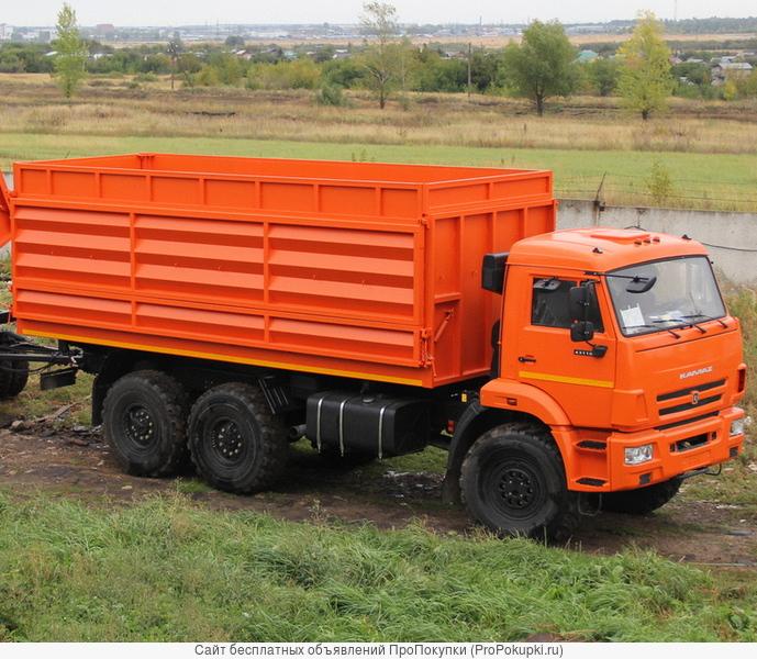 Сельхозник на базе шасси КАМАЗ-43118, 6х6, (г/п 10 тн.)
