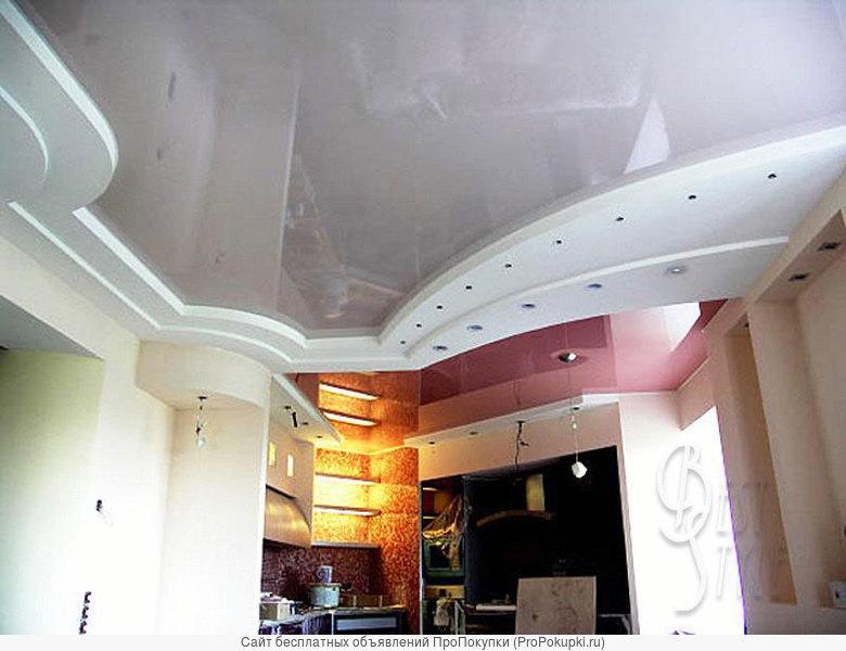 Натяжные потолки от компании Галактика