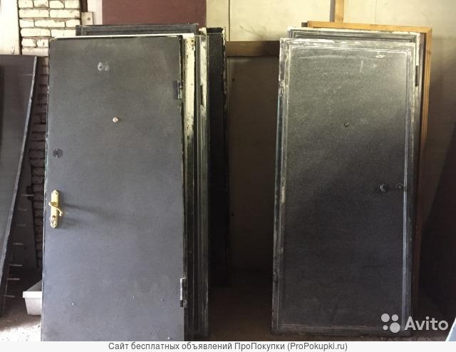 Межкомнатные и металлические двери БУ