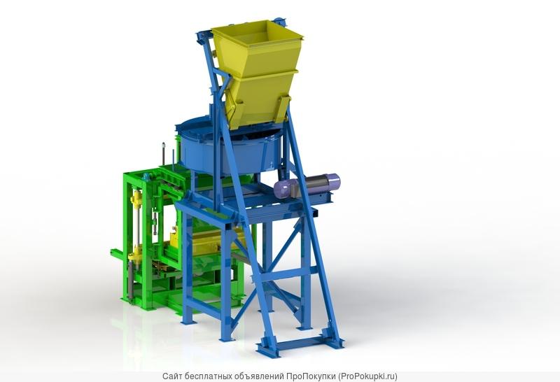 Мини-завод для производства блоков