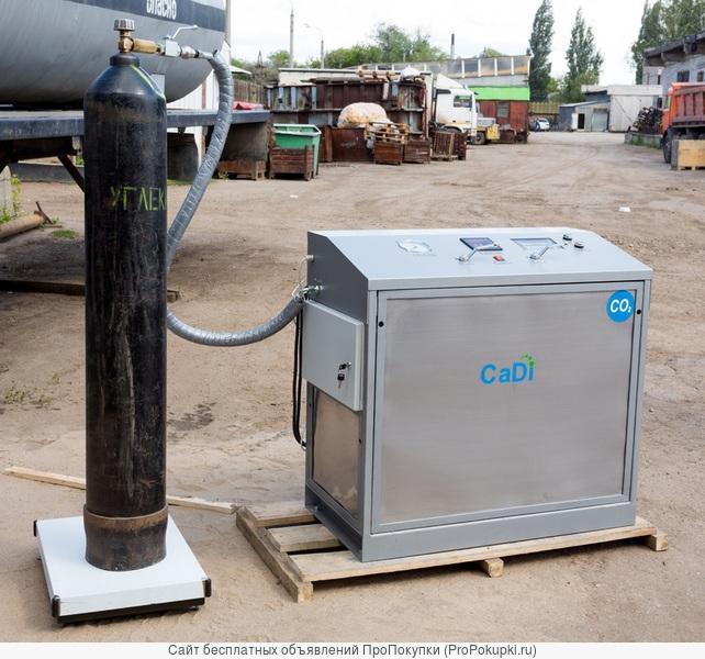 Заправляем углекислотные баллоны V-40 литров, ул. Тамбовская, дом 2