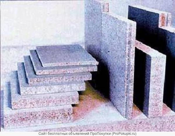 плита ЦСП / цементно-стружечный лист
