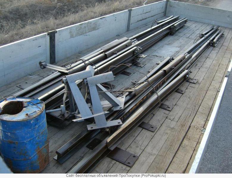 Стрелочные переводы Р24, Р33 на складе