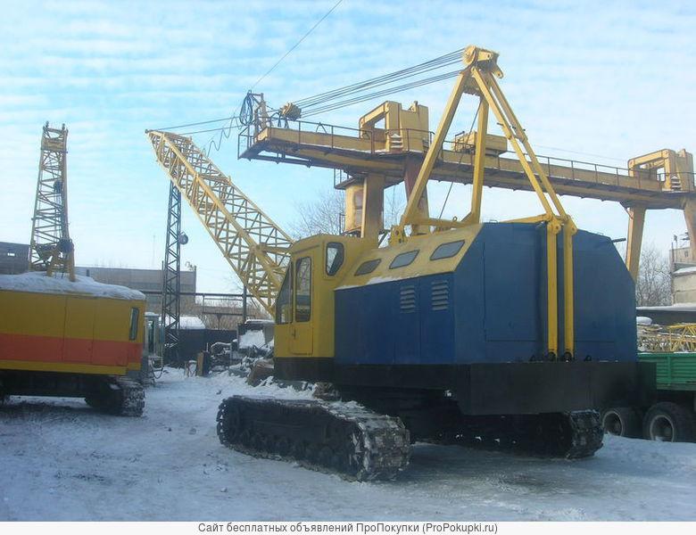 Услуга аренда кран РДК-250 с экипажем
