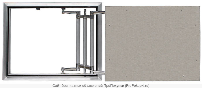 Люк ревизионный под плитку модель «ЕВРОФОРМАТ Серии ЕСКР»