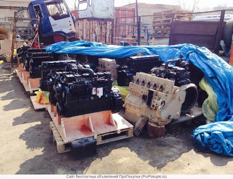 Двигатели CUMMINS ISF 2.8, ISF3.8, 4BT, 6BT, 4ISBe, 6ISBe, C8.3, L8.9