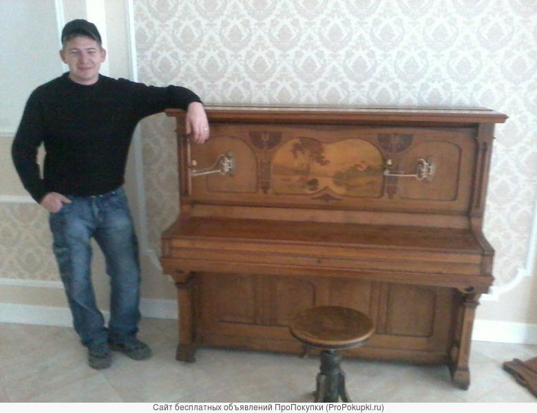 Перевозка, подъем, утилизация, вывоз пианино в Казани